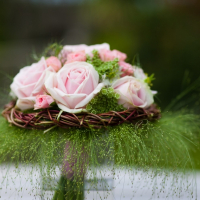 hand-tied posy BAFA Flower School