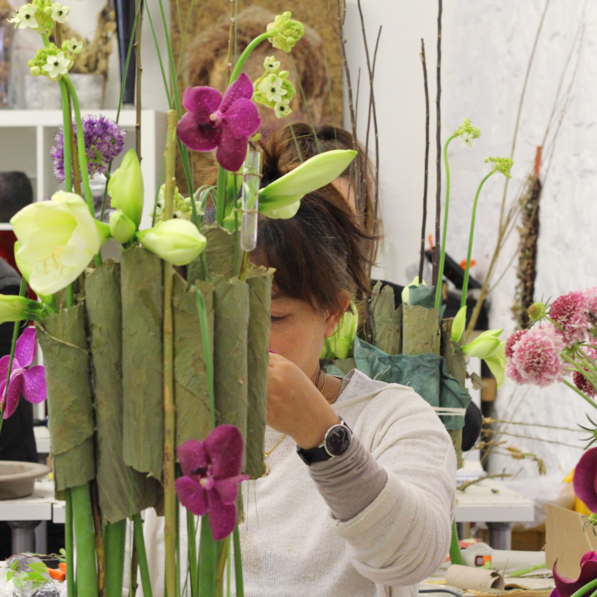 Flower Arrangement Course: Floristry And Flower Arrangement Courses, Learn To Be A