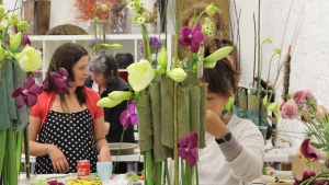 Didier Giles Master French Florist at Academy of Floral Art