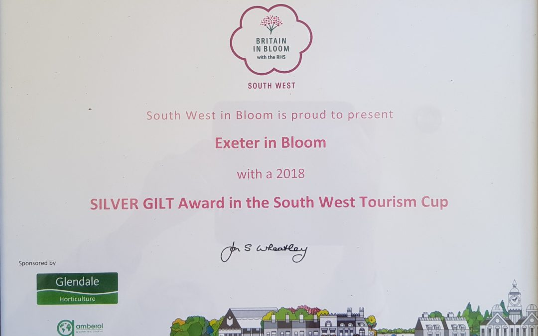 Exeter in Bloom Awards 2018