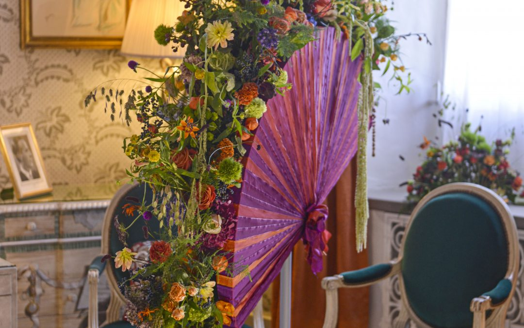 Tripping the light fan-tastic at Leeds Castle Festival of Flowers