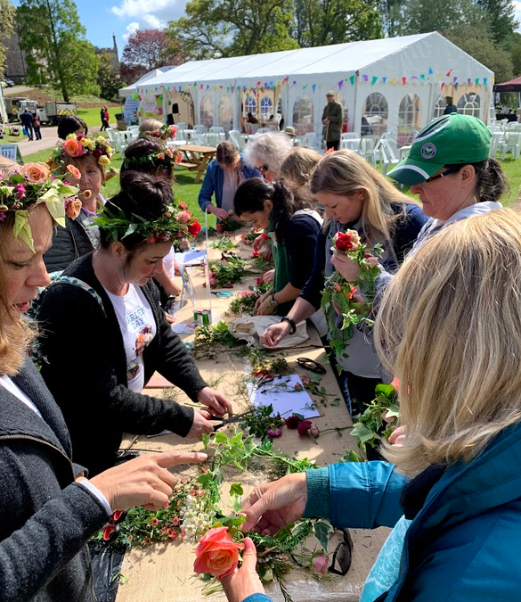 How to make a Festival Floral Crown